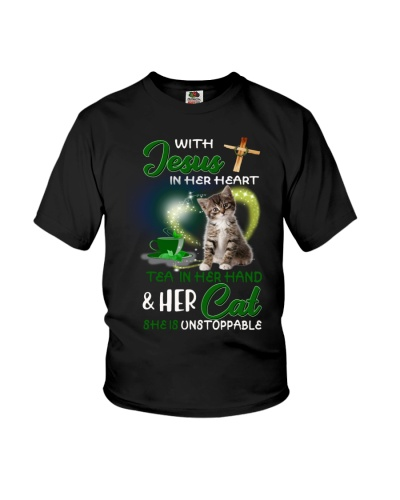 With Jesus Tea and Cat she is unstoppable