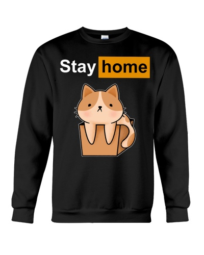 fn cat stay home shirt