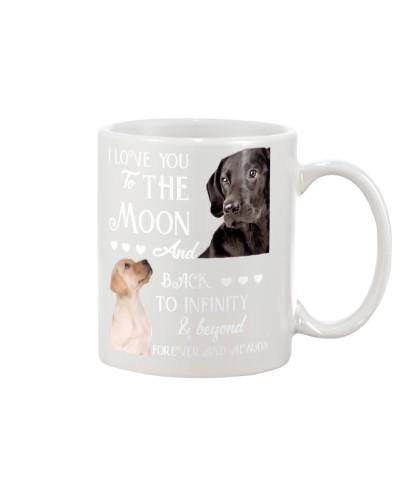 Labrador back to infinity mug MG2711