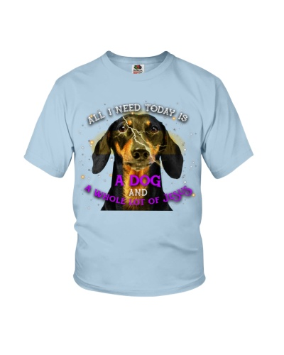Th 12 dachshund whole lot of jesus