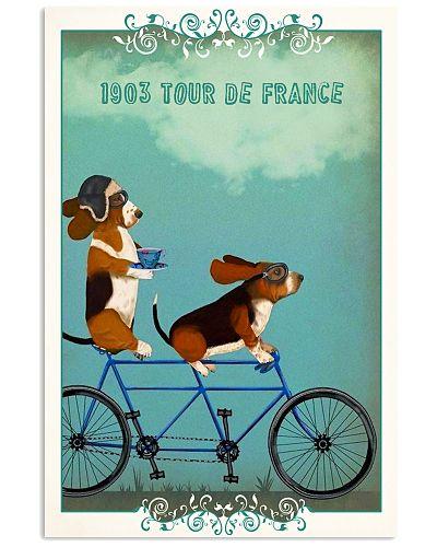 Tour De France Basset Hound