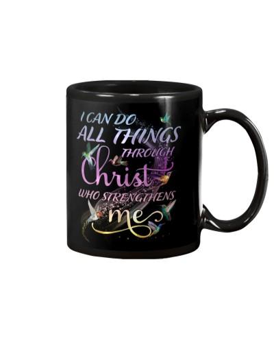 Hummingbird Christ strengthens me