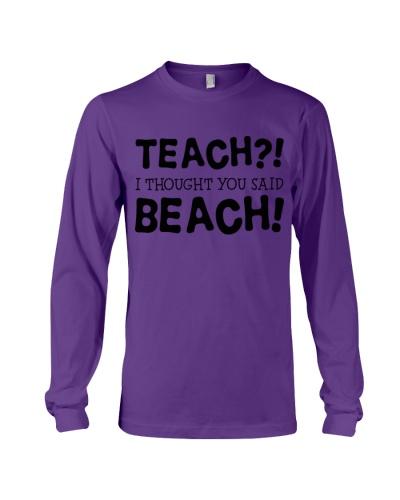 Teach beach