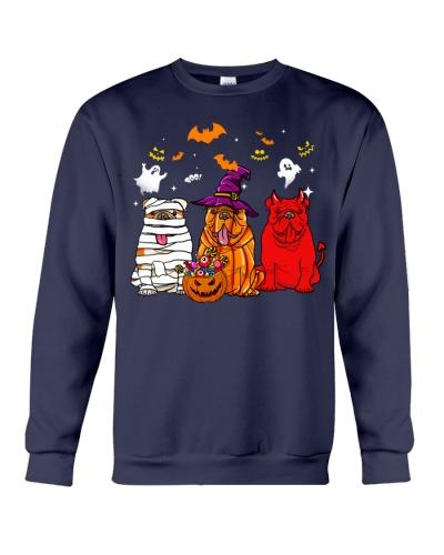 Bulldog Happy halloween shirt