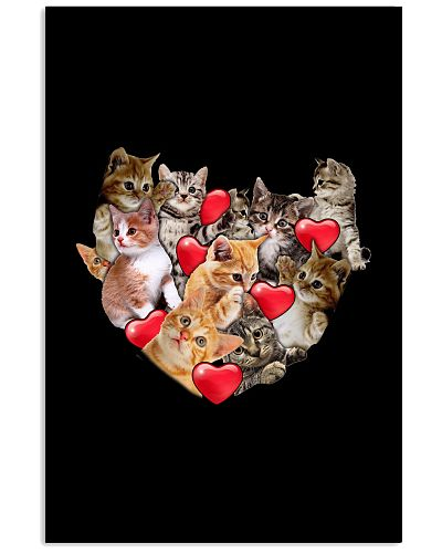 Cat baby heart valentine shirt