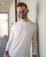 TH 32 Yorkshire Terrier In USA Pattern Cloth face mask aos-face-mask-lifestyle-10
