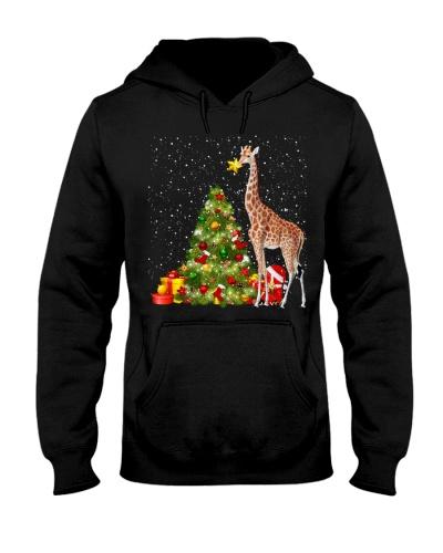 Giraffe funny christmas