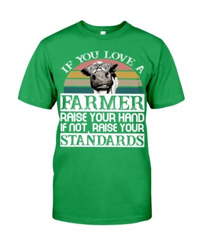 Cow Love A Farmer