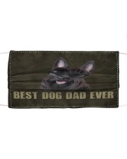 Th 2 Scottish Terrier Best Dog Dad Ever Cloth face mask front