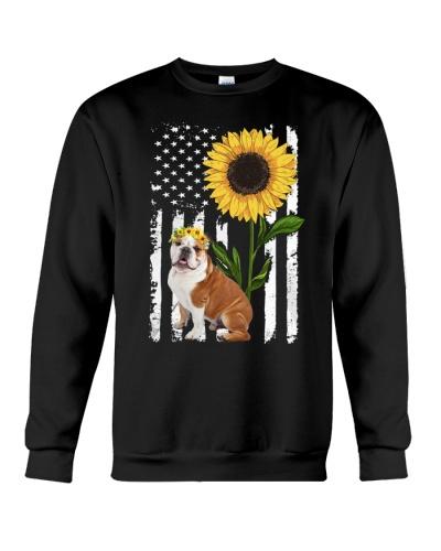 Ln bulldog proud and sunflower