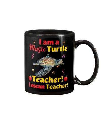 I am a music turtle