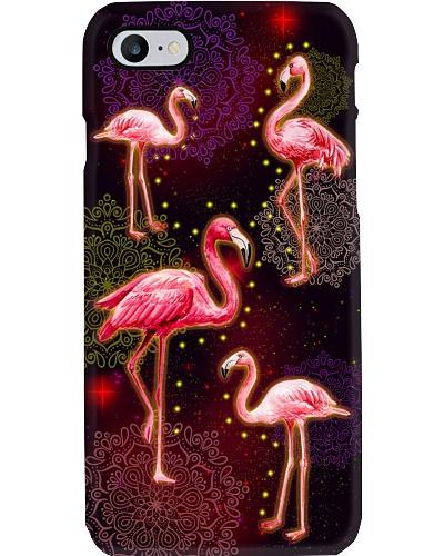 Vintage Color Flamingo Phone Case