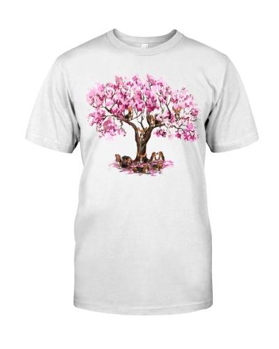 basset pink tree