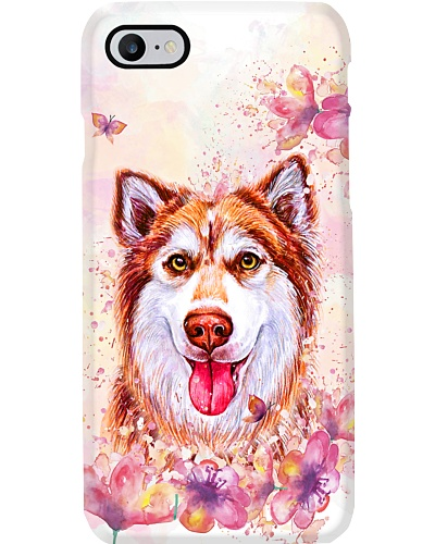 Husky flower gift 5