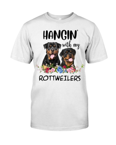 Hangin' with rottweilers