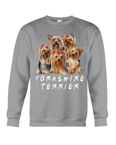 Yorkshire terrier close friends