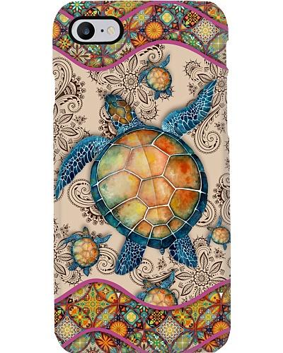 Turtle Boho Pattern