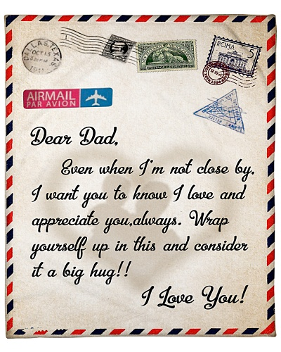 TTN 3 A Letter To Dad Blanket