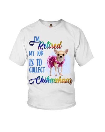 Chihuahua i am retired