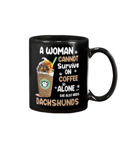 Dachshunds And Coffee