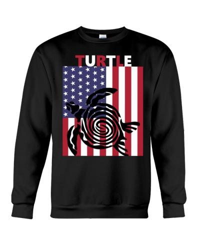 Turtle black flag