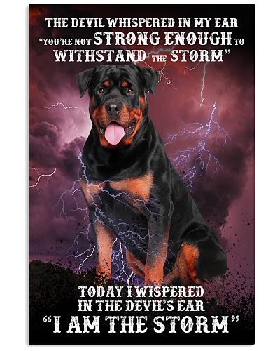 Withstand with devil iam strom Rottweiler