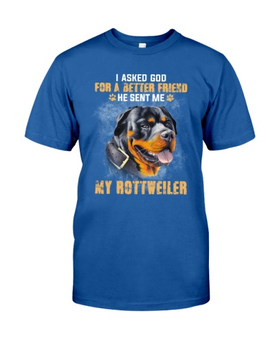 Rottweiler a better friend