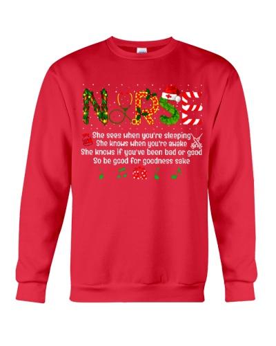 Nurse so be good for goodness sake christmas