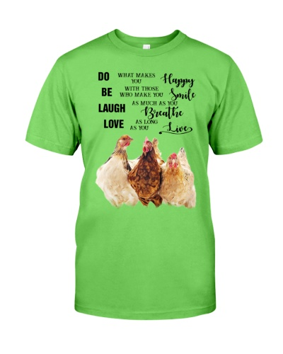 SHN 3 Do what makes you happy Chicken