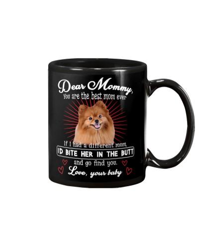 Pomeranian Dear Mommy