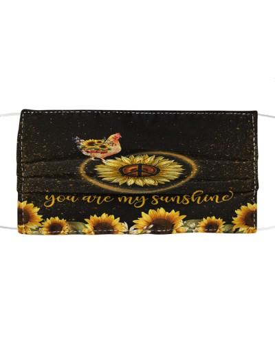 SHN 5 You are my sunshine sunflower Chicken