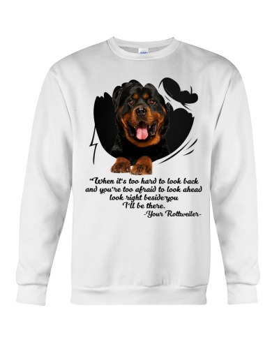 Look right be side you rottweiler