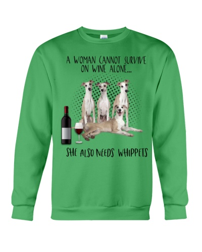 Whippets wine she needs