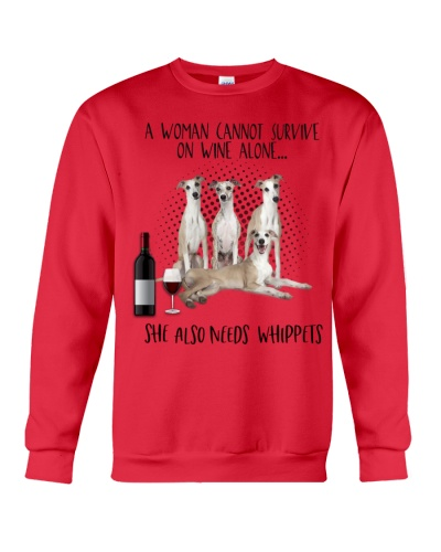 Whippets wine she needs