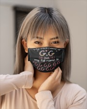 sn my nickname is gg Cloth face mask aos-face-mask-lifestyle-18