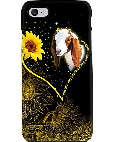 Goat sunshine heart phone case