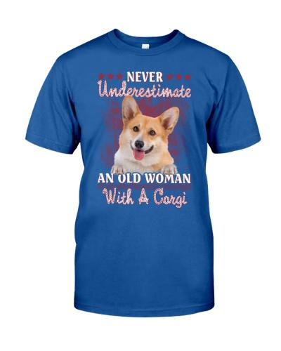 Corgi never underestimate old woman