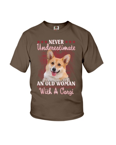 Corgi never underestimate old woman