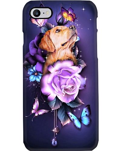 Golden retriever magical phone case