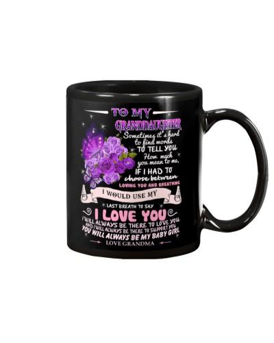 Granddaughter love you mug