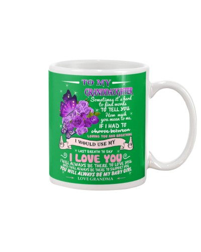 Granddaughter love you mug