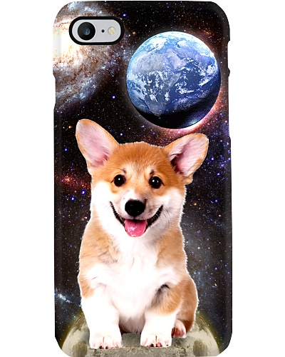 Mt 3 Space Galaxy Corgi Phone Case