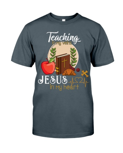 Teacher jesus shirt