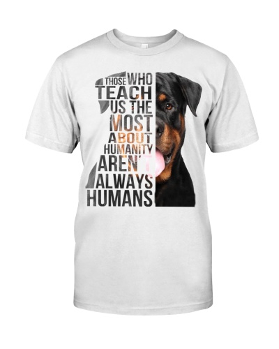 Rottweiler Those Who Teach About Humanity