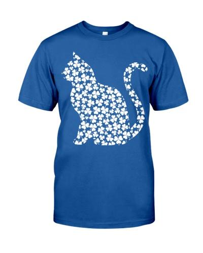 Cat Irish Clover Shirt