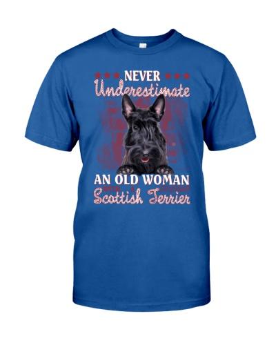 Scottish terrier never underestimate old woman