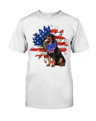 dt 10 rott usa flag on flower 15520