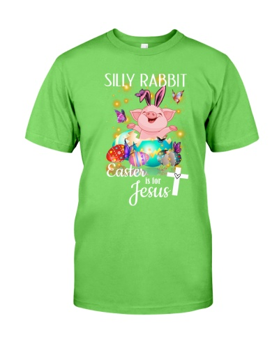 SHN Silly Rabbit Easter is for Jesus Pig