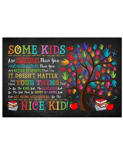 Teacher the nice kid poster
