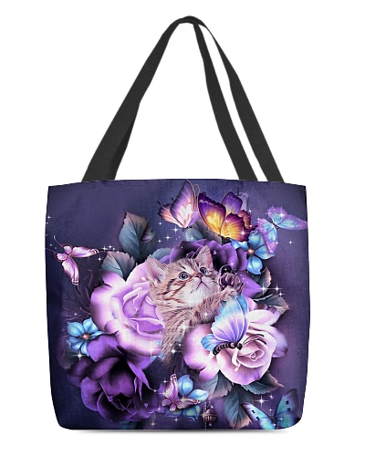 Cats purple bag
